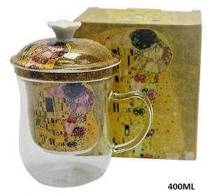KUBEK 400ML Z ZAPARZACZEM BOX-18